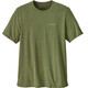 Patagonia M's Nine Trails SS Shirt Sprouted Green